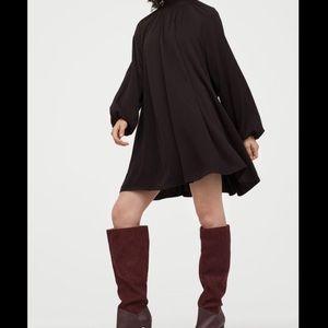 H&M Black Swing Dress Size 16